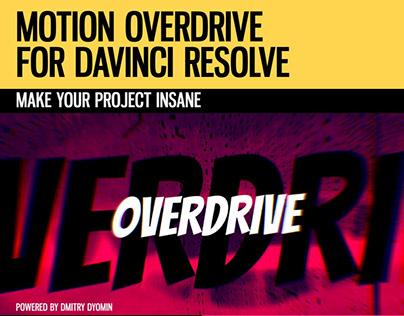 Motion Overdrive for DaVinci Resolve