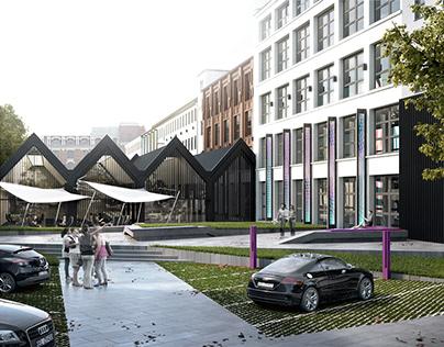 Zenit Łódź- rewitalizacja kompleksu pofabrycznego