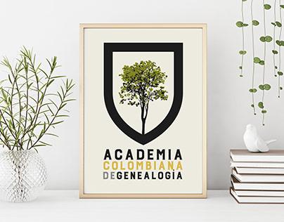 Academia Colombiana de Genealogía. Branding