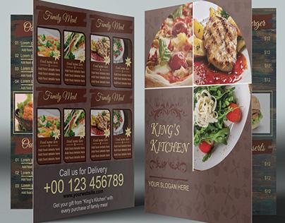 Restaurant Bi-Fold Brochure