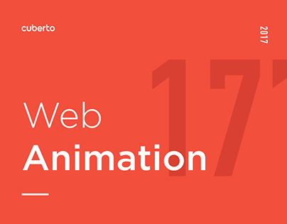 Selected Web Animation 2017