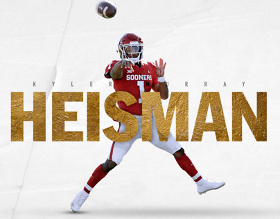Kyler Murray: Heisman (2018)