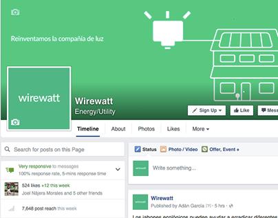 Wirewatt Facebook Campaign