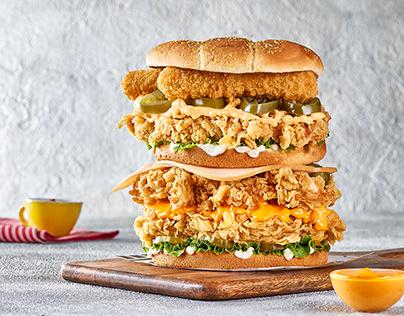 TIKO'S Fried Chicken Menu | Food Photography