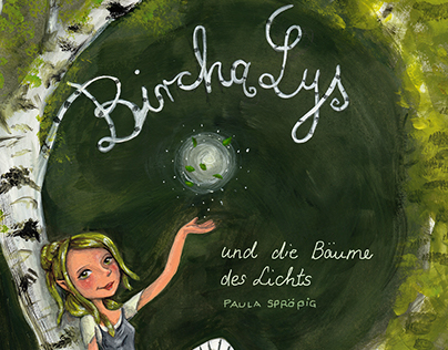 """""""Bircha Lys"""" Bookcover - free project"""