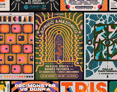 GIG Posters // BM - Vol.01