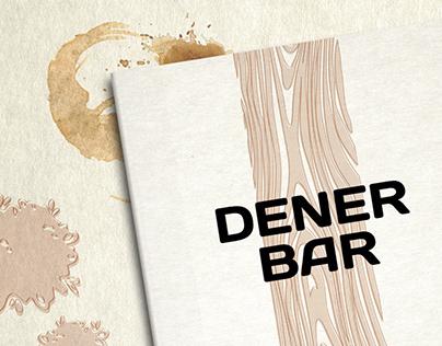 Menus and place mats for Dener Bar