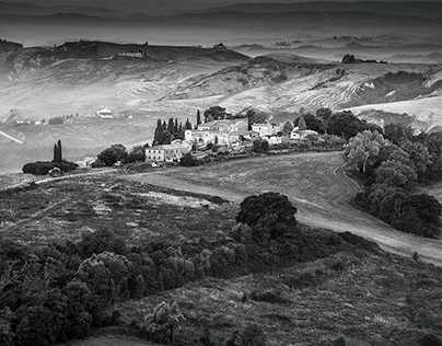 Tuscany without the Colour