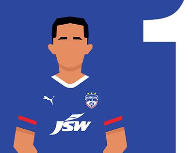 Key Indian Super League Players