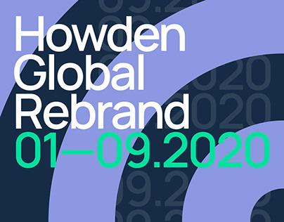 Global Rebrand for Howden