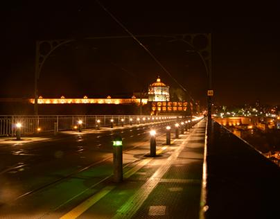 OPorto At Night