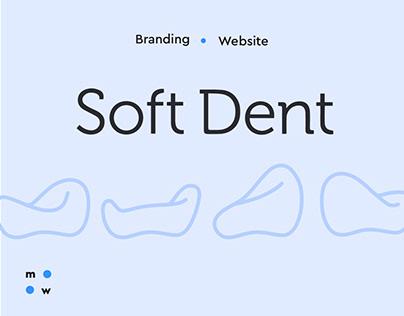 Soft Dent / branding & website