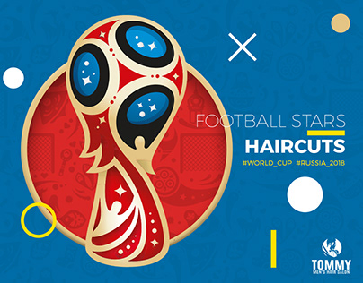 Football Stars Haircuts for Tommy Salon