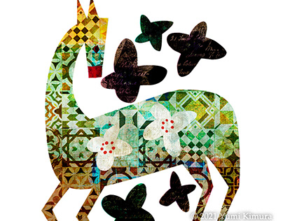 original Illustration of 4 patterns