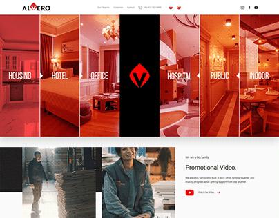 Alvero Concept Web Site