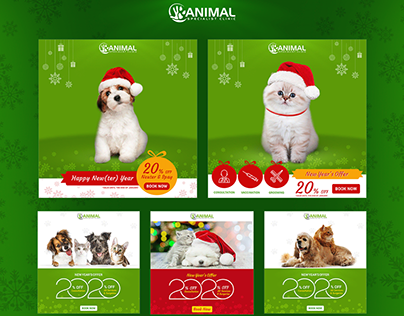 Animal Specialist Pet Clinic :: Xmas LG Campaign