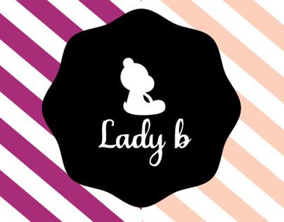 Lady b. Logo design- 2012