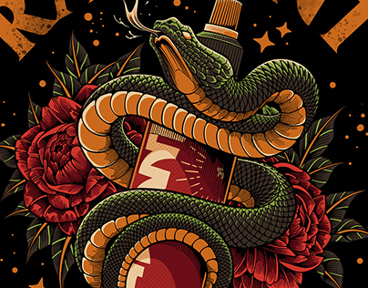 SERPENT | RADIANT COLORS INK