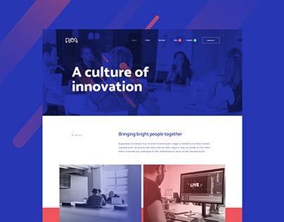 RCA.be - UX/UI Design