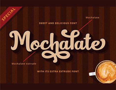 Mochalate I a sweet & delicious font