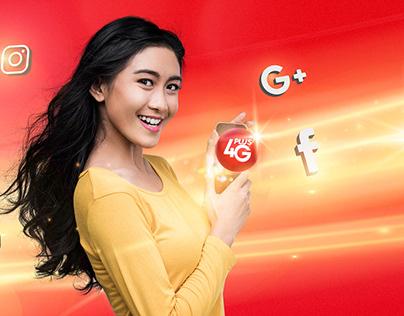 Ooredoo Myanmar 4G brand campaign