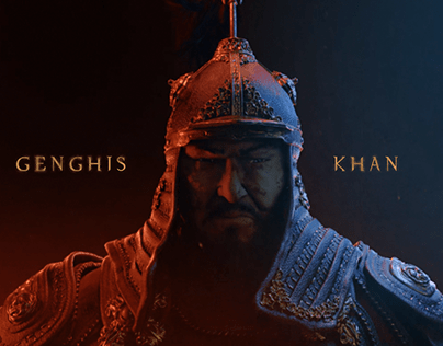 Genghis Khan Title sequence