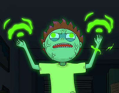 Voltamatron Morty Animated-Collaboration