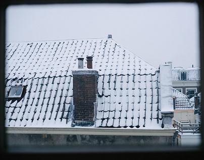 Utrecht in the snow