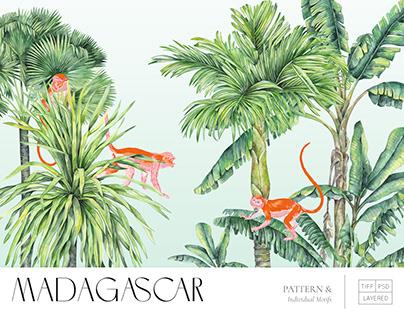 Madagascar, Luxury tropical print - Sprint Summer 2022