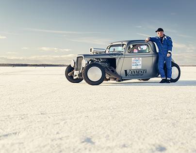 Worlds fastest iceracer