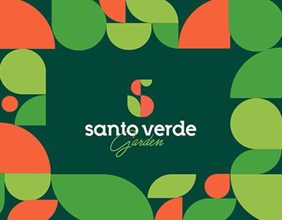 Identidade Visual Santo Verde Garden