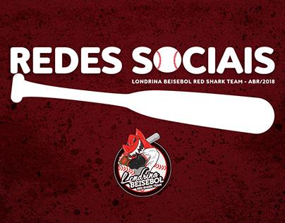 Redes Sociais abr/2018 Londrina Beisebol Red Shark Team