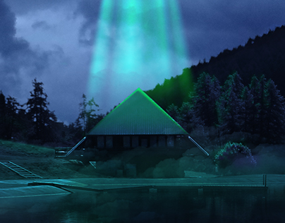 I Want to Believe | Matte Painting