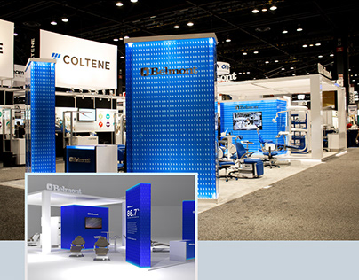 Tradeshow Booth Design - Dental Equipment