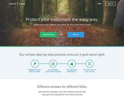 Trust Tree - Web App Design