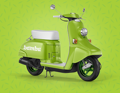 Bambu Online Grocery Store Brand Identity