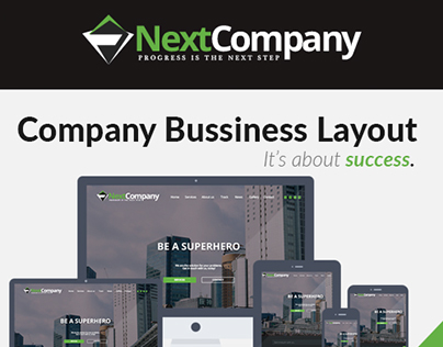 Next Company Co. Layout Design