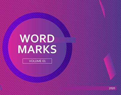 WORDMARKS | Volume 01 (2020)