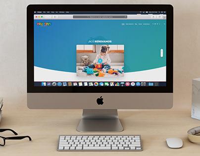 Ecuatoys web renovation