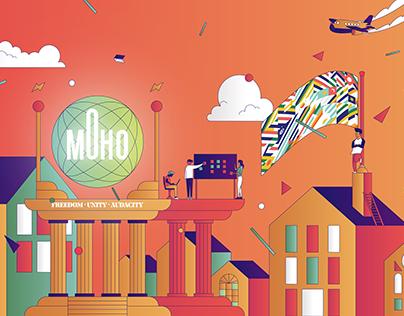 MOHO - Illustration Editoriale #1