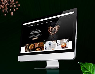 Van Houtte website redesign