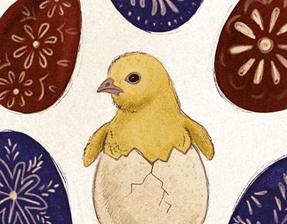 Easter Card for Mondi
