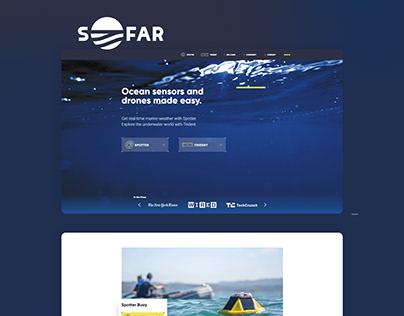 Sofar Website Design
