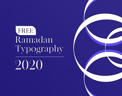 Free Ramadan Typography 2020