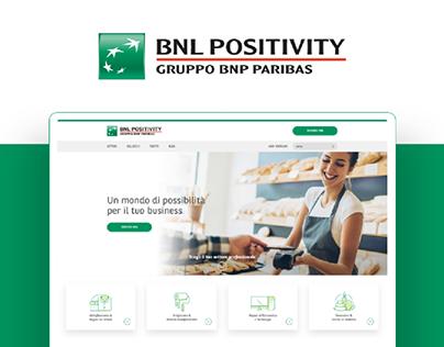 Bnl Positivity - Website Redesign