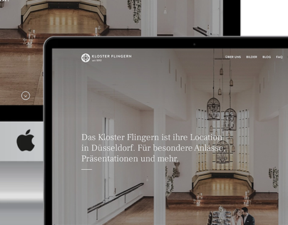 Kloster Flingern Webseite