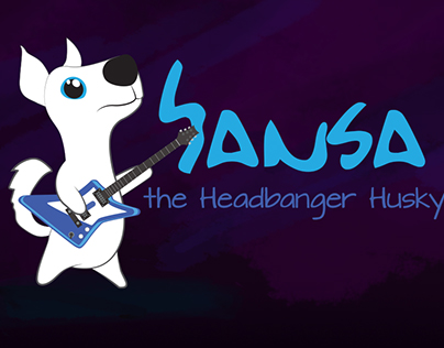 Sansa - the headbanger