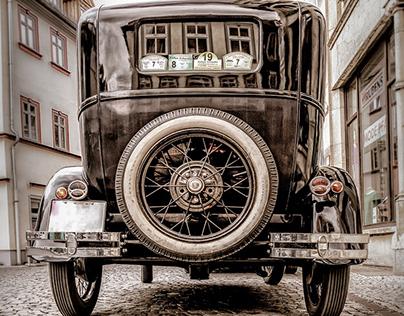 Old-timer Passengers Car