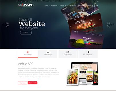 Nexnology Wordpress Website