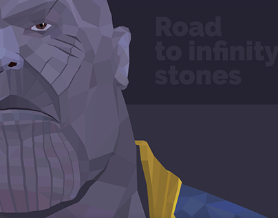 Thanos - Marvel Infinity war - digital art